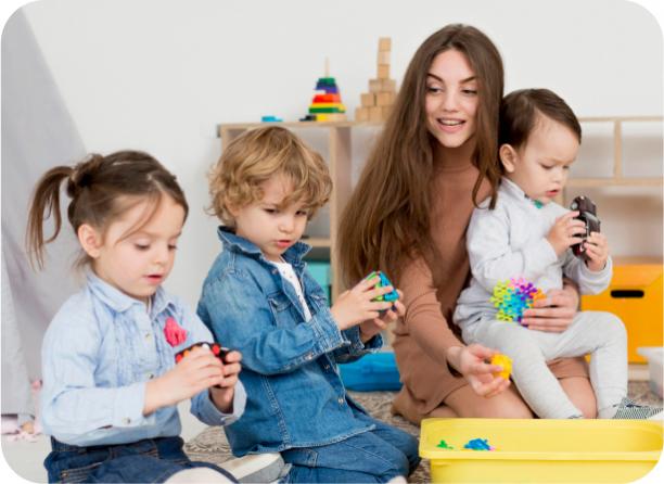 Работа с особенными детьми